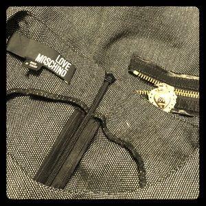 Moschino //  Size 2 - Zipper-trimmed Dress
